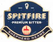 beer-pump-label-england-uk-united-kingdom-gb-great-britain-spitfire-ARRY76